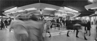 Artist: Bernhard Luettmer - Title: Metrodynamic VII - Medium: Silver Gelatin Photograph - Year: 2008