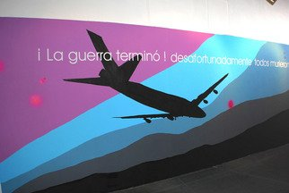 Undefined Medium by Luis Guillermo Ram�rez Ezquerra titled: game over mural , created in 2008