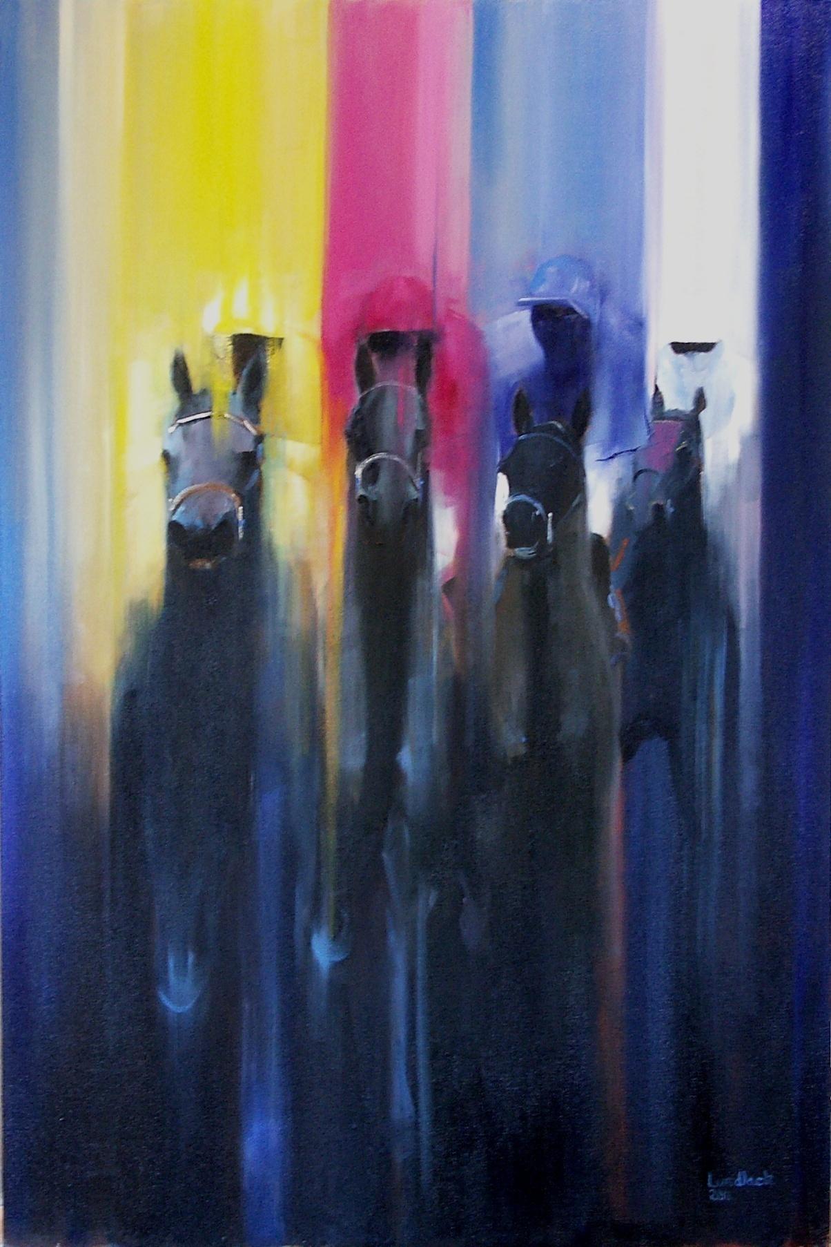 tom lund lack artwork primary colours original painting oil