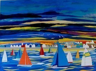 Collage by Tom Lund-lack titled: Regatta, created in 2012
