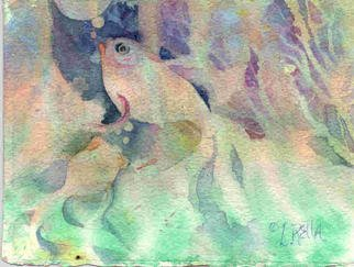 Lucille Rella: 'Underwater', 2003 Watercolor, Fish. This subject matter seems so right for the watercolor medium. ...