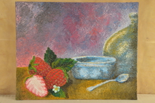 - artwork Garden_Strawberry-1345823810.jpg - 2012, Painting Oil, Still Life