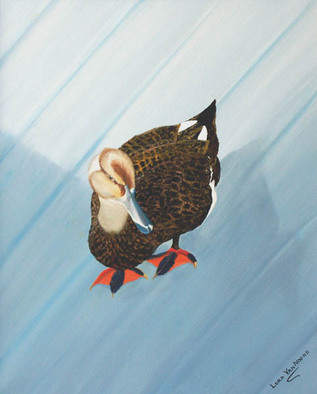 Artist: Lora Vannoord - Title: Duck - Medium: Oil Painting - Year: 2012