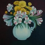 Pitcher of FLowers By Lora Vannoord