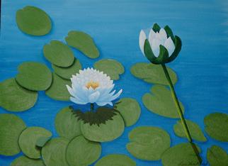 Artist: Lora Vannoord - Title: Water Lilies - Medium: Oil Painting - Year: 2012