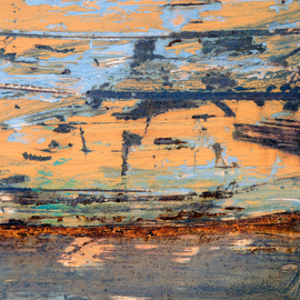 Abstraction In Marred Paint, Lynda Lehmann