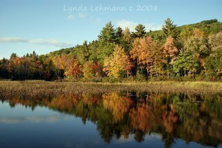 Color Photograph by Lynda Lehmann titled: Autumn Enchantment, created in 2008