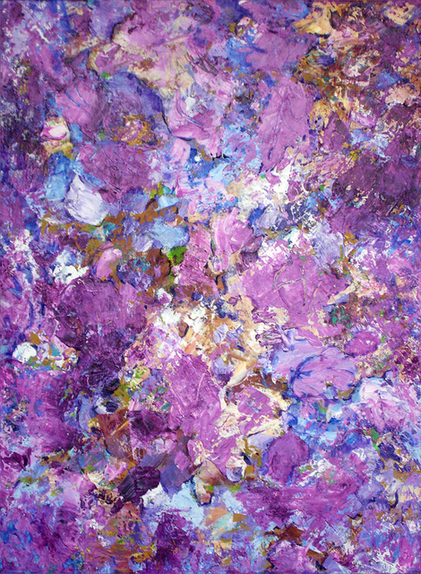 Lynda Lehmann  'Blossoms On The Breeze', created in 2008, Original Photography Mixed Media.