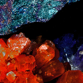 Lynda Lehmann: 'Galaxy', 2005 Other Photography, Fantasy. Artist Description:  For me, this close- up of minerals from my own collection, conjures a feeling of space, of the cosmos.  Image c Lynda Lehmann.   ...