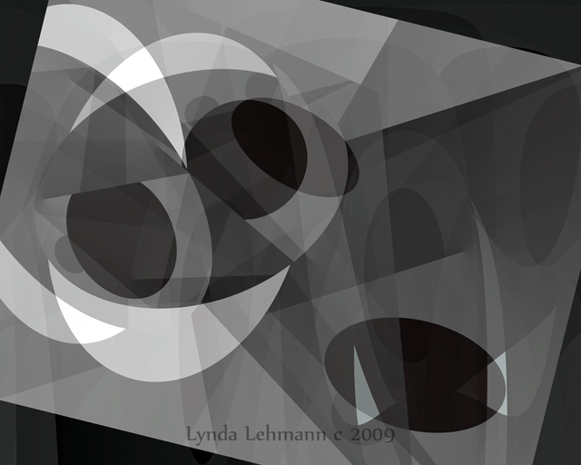 Lynda Lehmann  'Gray On Gray', created in 2009, Original Photography Mixed Media.