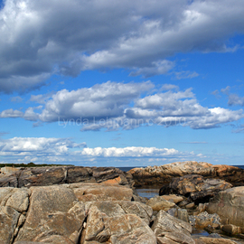 Lynda Lehmann: 'Magical RockScape', 2010 Color Photograph, Landscape. Artist Description:  Beautiful scenic Maine beach with rough, rocky terrain.Keywords:  wild, rugged, beach, water, shore, coastal, Maine, scenic, rocks, boulders, nature, beauty, texture ...