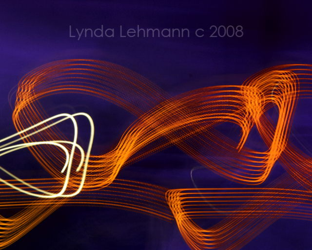 Artist Lynda Lehmann. 'Midnight Rampage' Artwork Image, Created in 2008, Original Photography Mixed Media. #art #artist