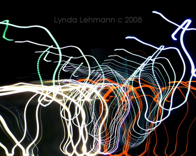 Lynda Lehmann  'Rototorsion 2', created in 2008, Original Photography Mixed Media.