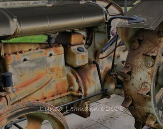 Color Photograph by Lynda Lehmann titled: Sturdy Old Workhorse, created in 2008