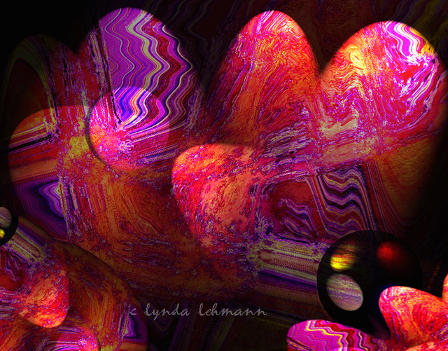 Lynda Lehmann  'The Birth Of Light', created in 2006, Original Photography Mixed Media.