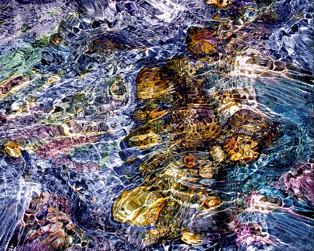 Lynda Lehmann  'Water Fantasy', created in 2005, Original Photography Mixed Media.