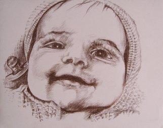 Pencil Drawing by Lyudmila Kogan titled: Anabella Resse , 2008