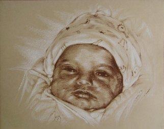 Pencil Drawing by Lyudmila Kogan titled: Karina Julia, 2008