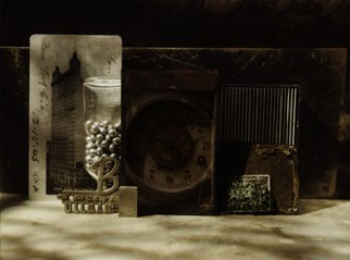 Tina West Artwork Cityscape, 2010 Polaroid Photograph, Still Life