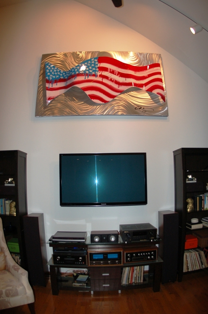 Mac Worthington  'America Wave  SOLD Commissions Accepted ', created in 2012, Original Other.