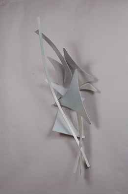 Aluminum Sculpture by Mac Worthington titled: Female Depiction, created in 2012