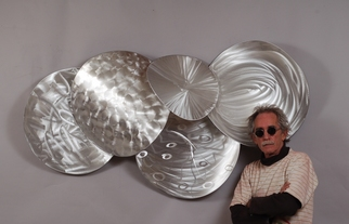 Aluminum Sculpture by Mac Worthington titled: Heat of Shadows, created in 2012