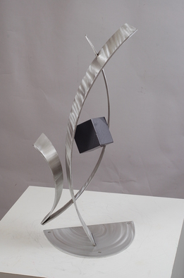 Aluminum Sculpture by Mac Worthington titled: Provocative Pose, created in 2012