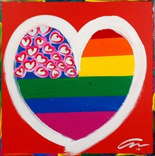 - artwork Rainbow-1348668982.jpg - 2012, Painting Acrylic, Figurative