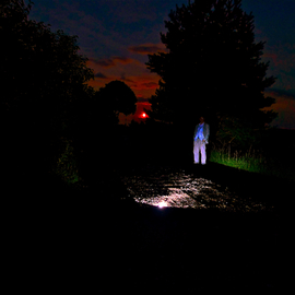Swirski Maciej: 'Color 1', 2011 Color Photograph, Outsider. Artist Description:   Landscape, night, light, mystery ...