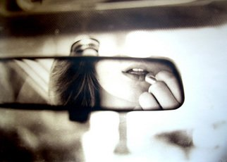Mary Anne Mitchell: 'Lovely Lips', 2008 Silver Gelatin Photograph, Undecided.