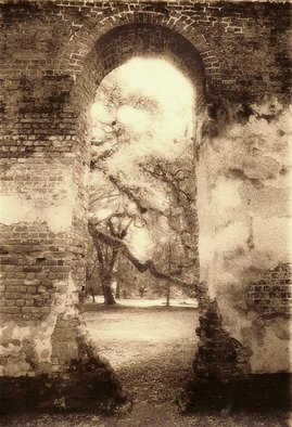Mary Anne Mitchell: 'Sheldon Arch', 2006 Silver Gelatin Photograph, Undecided.  print sepia toned ...