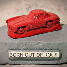 Born out of Rock Mercedes 2 By Roland Van Ast