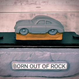 Born out of Rock Porsche 1 By Roland Van Ast