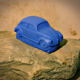 Born out of Rock VW Beetle 1 By Roland Van Ast
