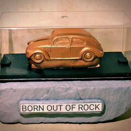 Born out of Rock VW Beetle 2 By Roland Van Ast