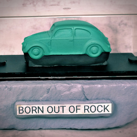 Born out of Rock VW Beetle 3 By Roland Van Ast