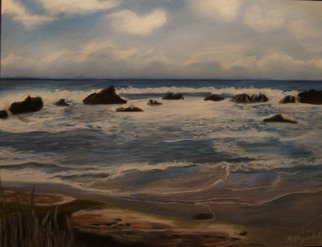 Beach Pastel by Maggie Bezuhly Title: Oregon Coast 1, created in 2005