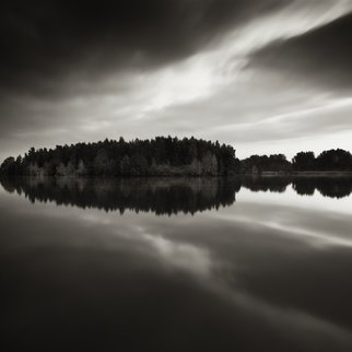 Jaromir Hron Artwork Reflection, 2011 Black and White Photograph, Landscape