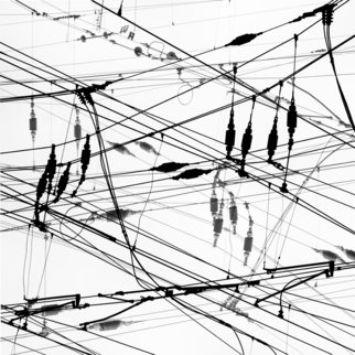 Jaromir Hron Artwork WeB, 2011 Black and White Photograph, Abstract