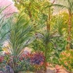 Costa Rican garden By Mary Jean Mailloux