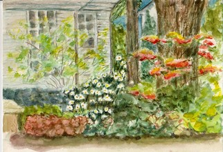 Artist: Mary Jean Mailloux - Title: Oakville plein air - Medium: Watercolor - Year: 2011