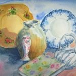 cottage crockery By Mary Jean Mailloux