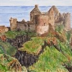dunluce castle ruins By Mary Jean Mailloux