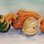 gourd friends By Mary Jean Mailloux