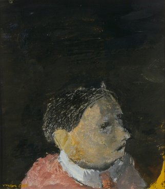 Malcolm Moran: 'the glutton', 1997 Other Painting, Archetypal. portrait, people...