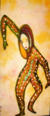 Malke Artwork The Jester Dancer, 2009 Other Drawing,