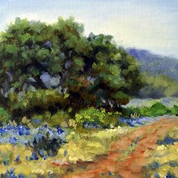 , Hill Country Bluebonnets, undecided, $520