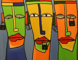 Acrylic Painting by Murali Govindaraj titled: Business Ethics, 2014