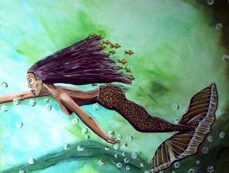 Acrylic Painting by Mamu Art titled: Dream, 2014