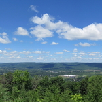 harris hill scenic overlook By Charles Baldwin